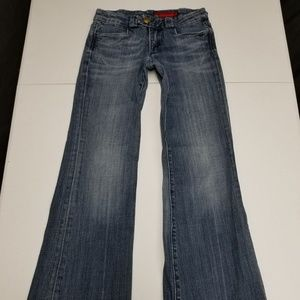 Vigoss Jeans Size 6 / 25 Low Rise Flare Buttons